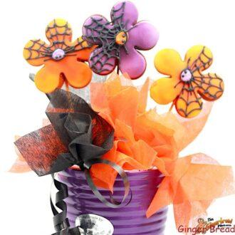 Halloween Flowers Bouquet