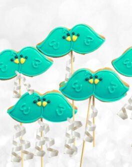 Love Bird Cookie Pops