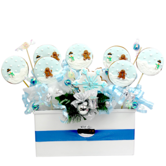 Snow cookie bouquetweb