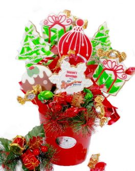 Christmas Lolly Cookie Bouquet