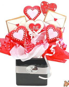 Love letter Cookie Bouquet