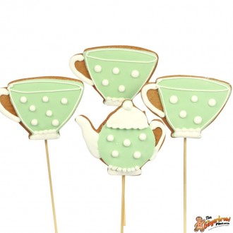 Tea Set Cookie Pops