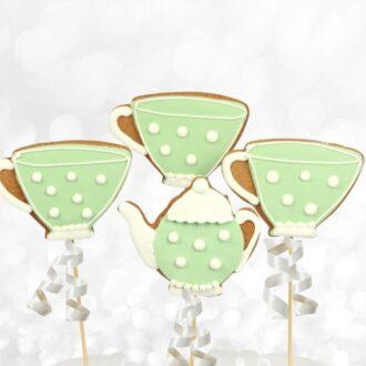 Tea Set Cookie Pops