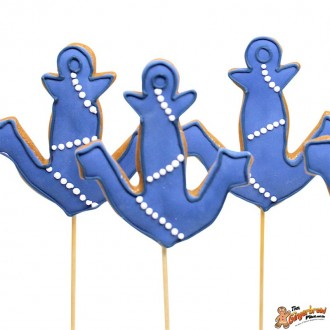 Anchor Cookie Pops