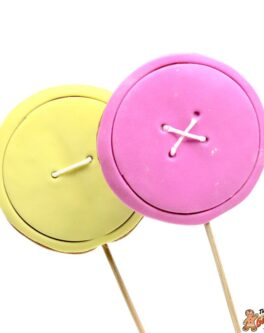 Button Cookie Pops
