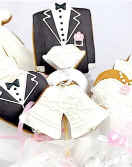 Wedding Cookie Pops