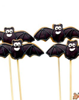 Bat cookie pops web