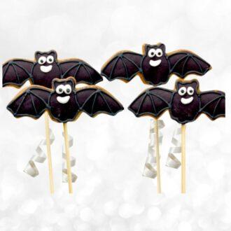 Bat cookie pops web