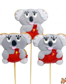 Blinky Bill Koala Cookie Pops