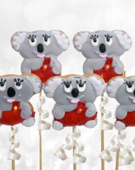 Blinky Bill Koala Cookie Pops