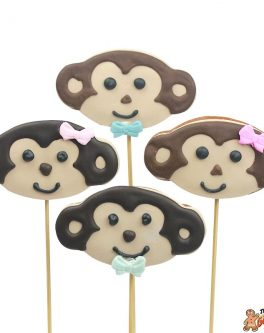 Cookie pops cheeky monkey