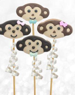 Cookie pops cheeky monkey