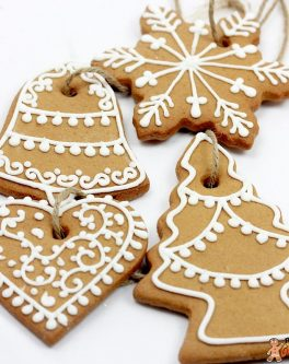 Rustic Christmas Cookie Favours