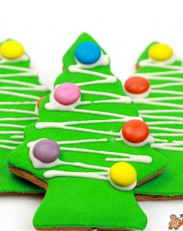 Deluxe Christmas Tree Cookie Favours