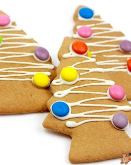 Basic Christmas Tree Cookie Favours