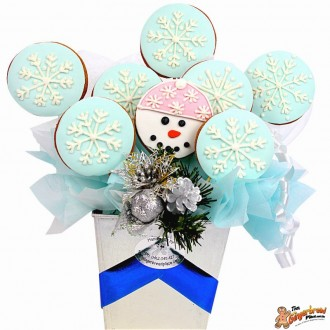Happy Snowman Bouquet