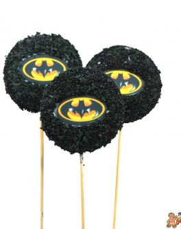 Batman Cookie Pops