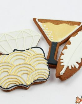 Gatsby 1920's themed cookies
