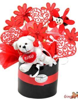 Floral Hearts Bouquet