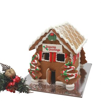 Classic GIngerbread House web