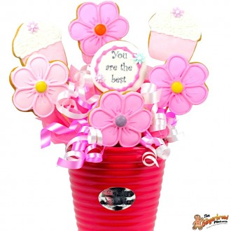 Cookie bouquets mother day and flowers