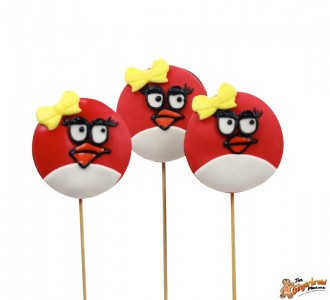 Angry Birds Cookie Pops