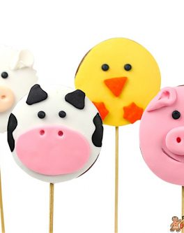 Farmyard Cookie Pops