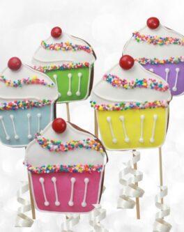 Cupcake Cookie Pop