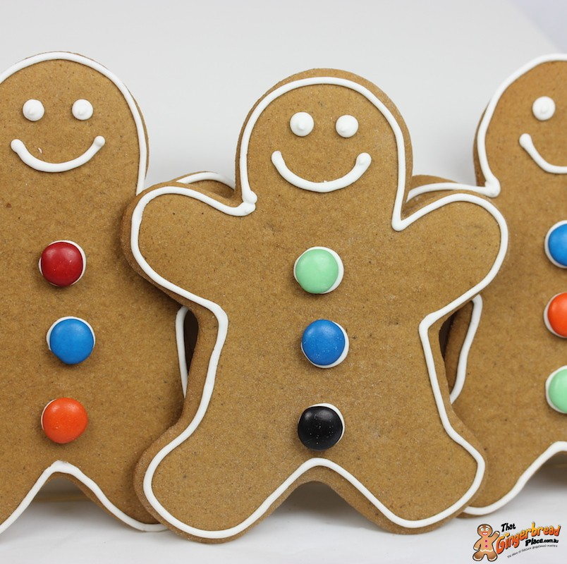 Gingerbread Man Gift Box Perfect For A Christmas Gift