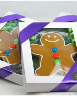 Gingerbread men gift box