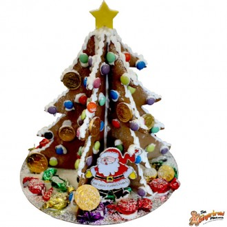 DIY Gingerbread 3D Tree Kits