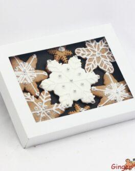 White Snowflake Gift Box