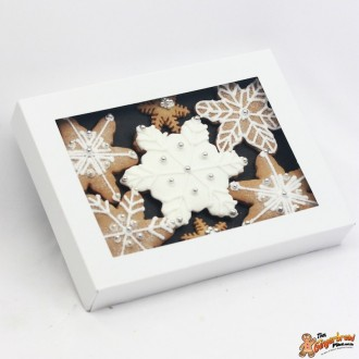 White Snowflake Gift Box