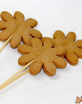 DIY Cookie pop flowers