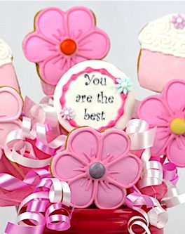 Mothers Day Cookie Bouquets