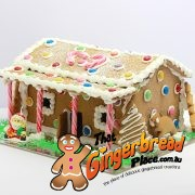Aussie Outback Gingerbread House Side view
