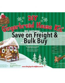 DIY Gingerbread House Kits - Bulk buy (+5)