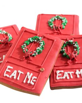Christmas Doors Cookie Favours