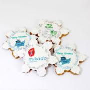 Cookie snowflake logo web