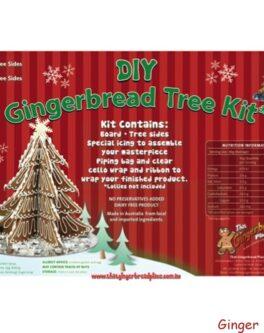DIY Gingerbread 3D Tree Kits