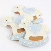 Baby Boy Cookies Mixed Box – Rocking Horses