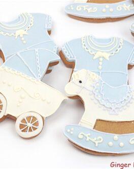 Baby Boy Cookies Mixed Box