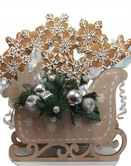 Rustic Reindeer Cookie Bouquet