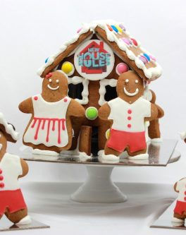 Family Gingerbread House