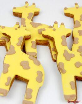 Giraffe Cookie Favours