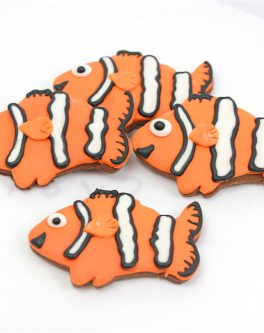 Clown Fish Cookie Favours