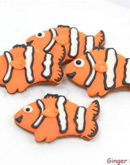 Clown Fish Cookie Favours