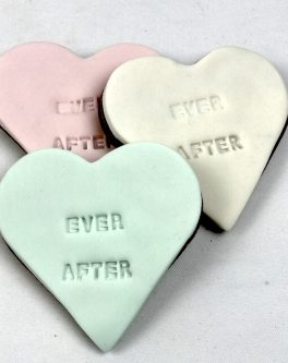 Imprinted Heart Favours