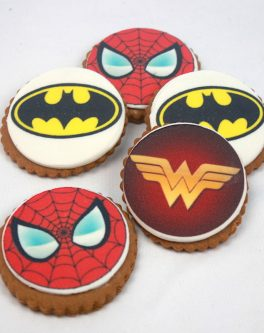 Superhero Cookie Favours