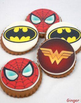 Superhero Cookie Favours